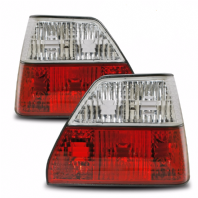 Mk2 Golf Crystal Red/Clear Rear Lights
